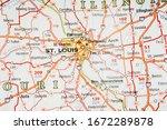 usa travel map background...   Shutterstock . vector #1672289878