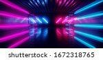 Sci Fi Futuristic Neon Electric ...