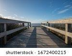Wooden Plank Bridge To The...