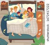 Children Sleep In Parents Bed....