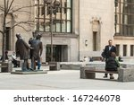 toronto   may 10  sculpture ... | Shutterstock . vector #167246078