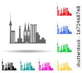 cityscape london multi color...