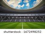 Empty Stadium   Sport Events...