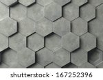 abstract hexagonal background | Shutterstock . vector #167252396