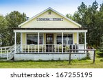An Old General Store In A Smal...