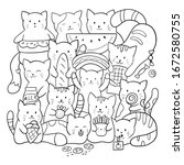 Doodle Coloring Page For...