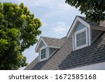 Roof Shingles With Garret House ...