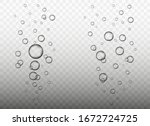 raindrops. water bubbles. many... | Shutterstock .eps vector #1672724725