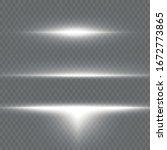 white glowing light explodes on ...   Shutterstock .eps vector #1672773865