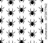 seamless pattern. creative...   Shutterstock .eps vector #1672877962