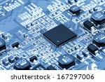 circuit board | Shutterstock . vector #167297006