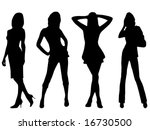fashion girls | Shutterstock .eps vector #16730500