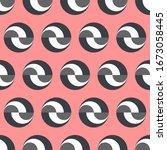 geometry minimalistic artwork... | Shutterstock .eps vector #1673058445