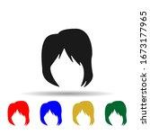 woman haircut layered multi...