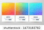 design flyer concepts. vector...