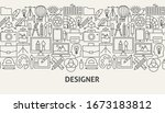 designer banner concept. vector ...