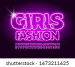 vector creative banner girls... | Shutterstock .eps vector #1673211625