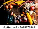 Vegetable Cornucopia. Winter...