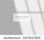 shadow overlay effect. soft... | Shutterstock .eps vector #1673317825
