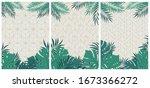 creative set of elegant... | Shutterstock .eps vector #1673366272