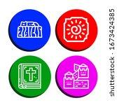 Historic Simple Icons Set....