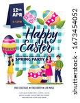 Happy Easter Party Poster ...