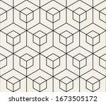 vector seamless pattern. modern ... | Shutterstock .eps vector #1673505172