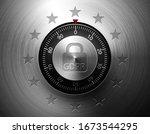 gdpr general data protection... | Shutterstock .eps vector #1673544295
