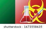 Ireland biohazard epidemic threat vector illustration fight coronavirus or any other disease concept