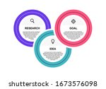business process infographic...   Shutterstock .eps vector #1673576098