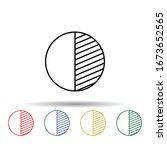 date of schedule multi color...
