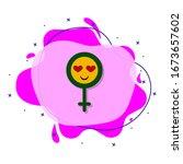 woman symbol  smile  eye heart...