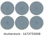 Optical Illusion Shape Set ...