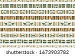 watercolor tribal geometric... | Shutterstock . vector #1673903782