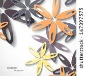 flower background | Shutterstock .eps vector #167397575