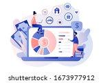 budget management. personal... | Shutterstock .eps vector #1673977912