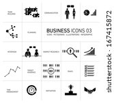 vector business icons and...