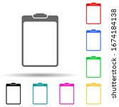 paper tablet multi color style...