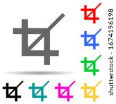 zoom sign multi color style...