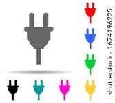 electrical plug multi color...