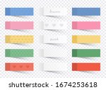 illustration of a colored set... | Shutterstock .eps vector #1674253618