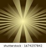 golden light spread in a... | Shutterstock .eps vector #1674257842