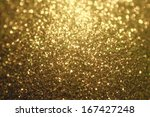 Abstract Christmas Golden...