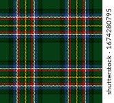 vector tartan background for st....   Shutterstock .eps vector #1674280795