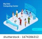 big data statistics analytics... | Shutterstock .eps vector #1674286312