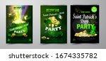 st. patrick s day poster.... | Shutterstock .eps vector #1674335782
