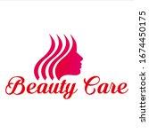 beauty logo vector spa... | Shutterstock .eps vector #1674450175