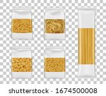 italian pasta food package... | Shutterstock .eps vector #1674500008