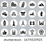 Landmarks Of The World Icons...