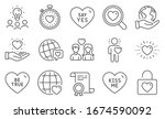 set of love icons  such as be...   Shutterstock .eps vector #1674590092
